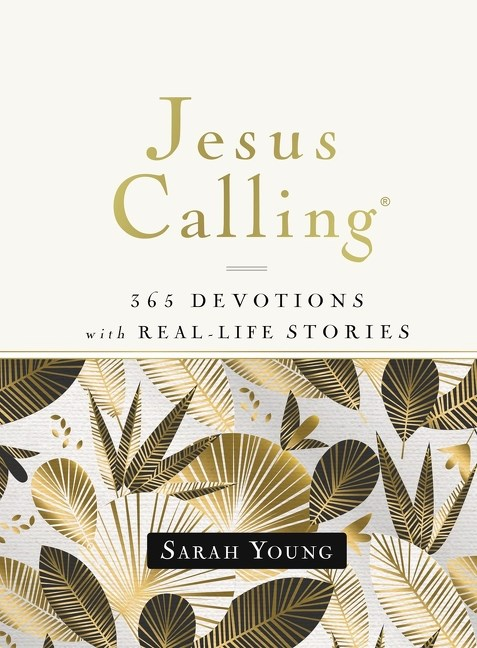 Jesus Calling 365 Devotions with Real-Life Stories
