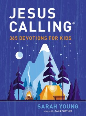 Jesus Calling 365 Devotions for Kids (Blue)