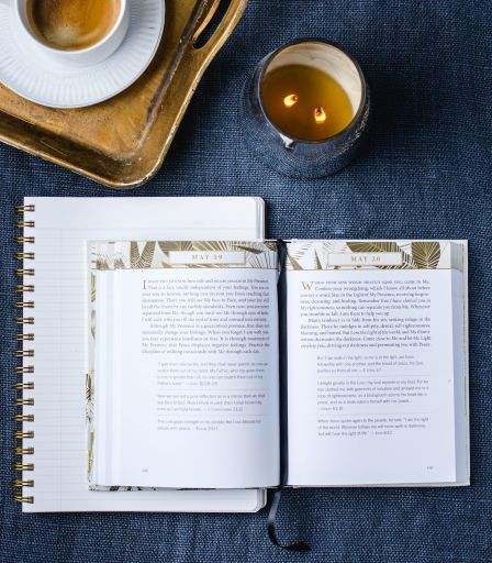 Jesus Calling with real life stories interior page look