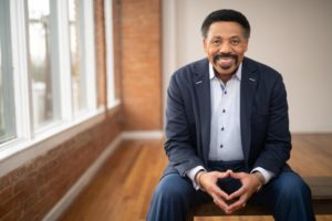 Dr. Tony Evans guest blogger on Jesus Calling blog Treasures in Darkness