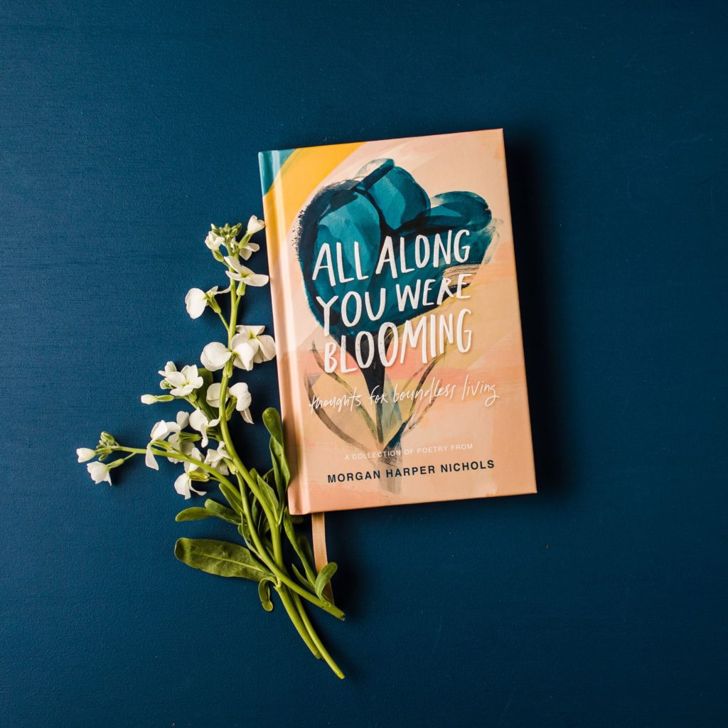 Jesus Calling podcast #205 with Morgan Harper Nichols discussing her latest book, All Along You Were Blooming