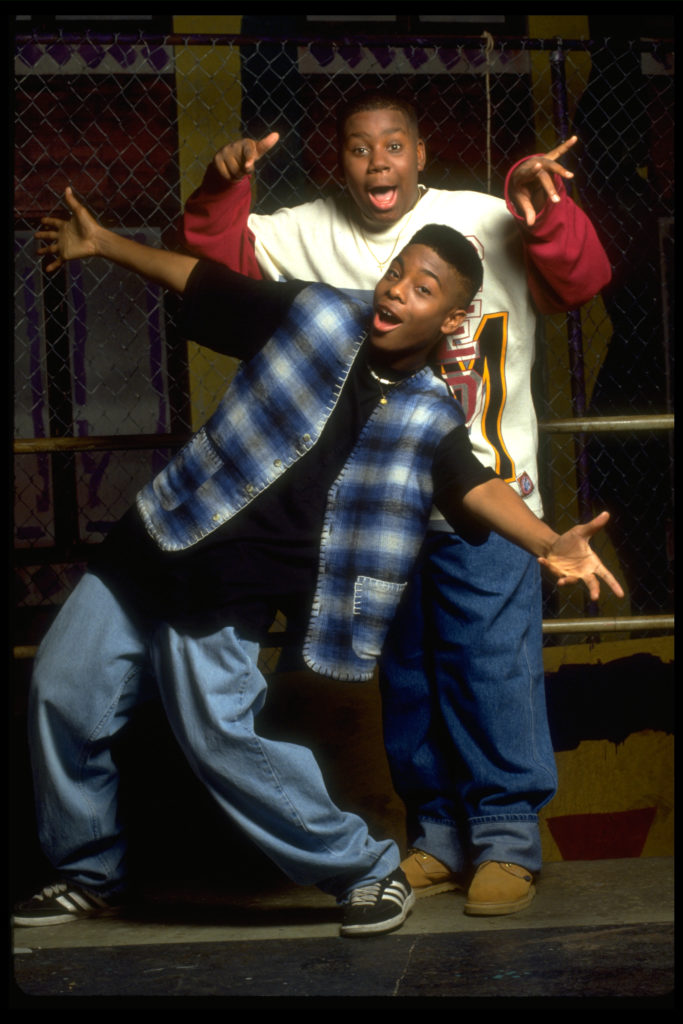 Jesus Calling podcast #205 and our guest Kel Mitchell pictured here from his younger days on Nickeloedon's ALL THAT with co host Kenan Thompson