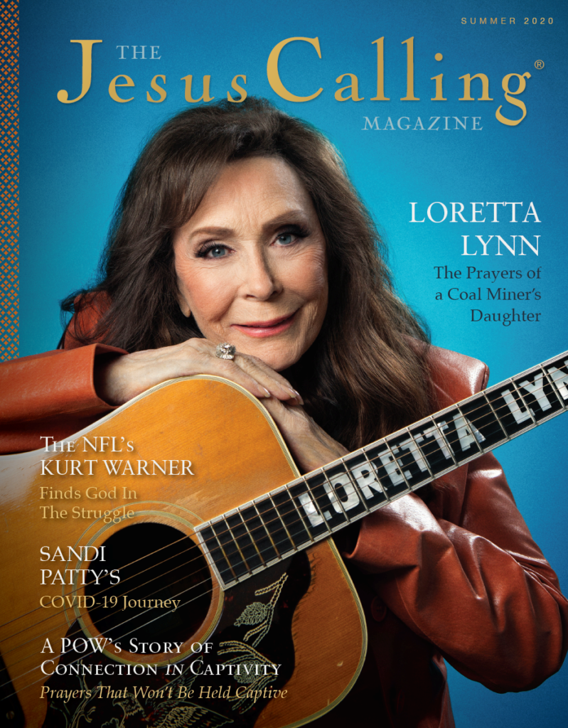 The Jesus Calling Magazine summer edition cover