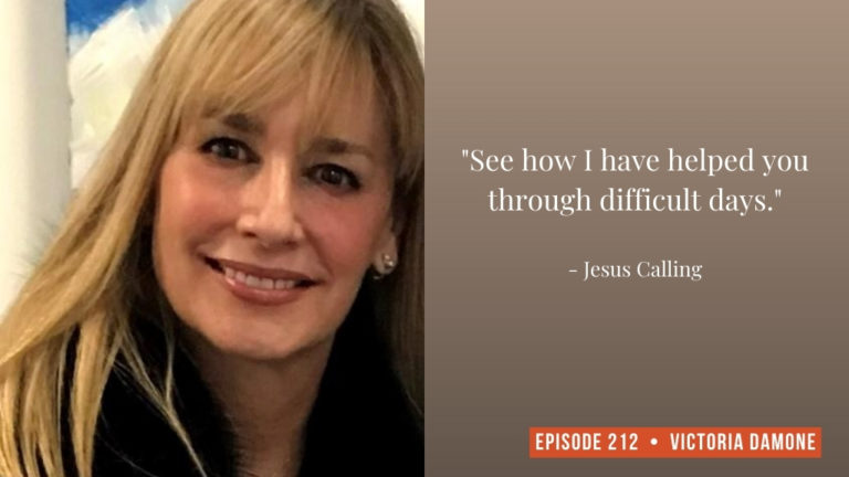 Jesus Calling podcast #212 featuring Victoria Damone & Catherine Wood