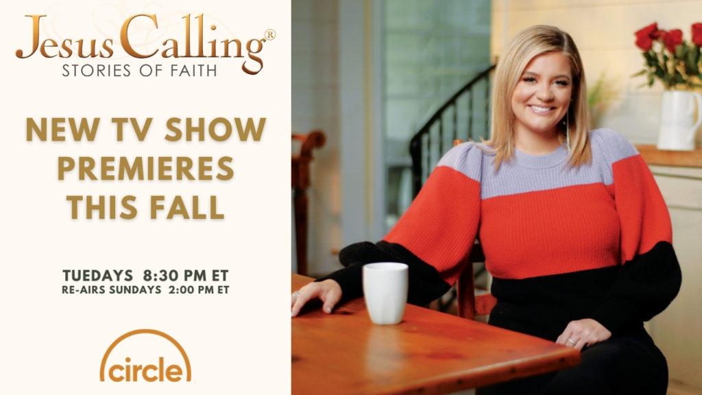 Jesus Calling TV promotional shot with Lauren Alaina