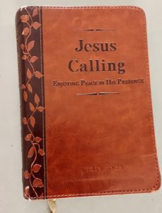 personalized Jesus Calling for Cindy Ryan and used in her blog A Journal of Healing