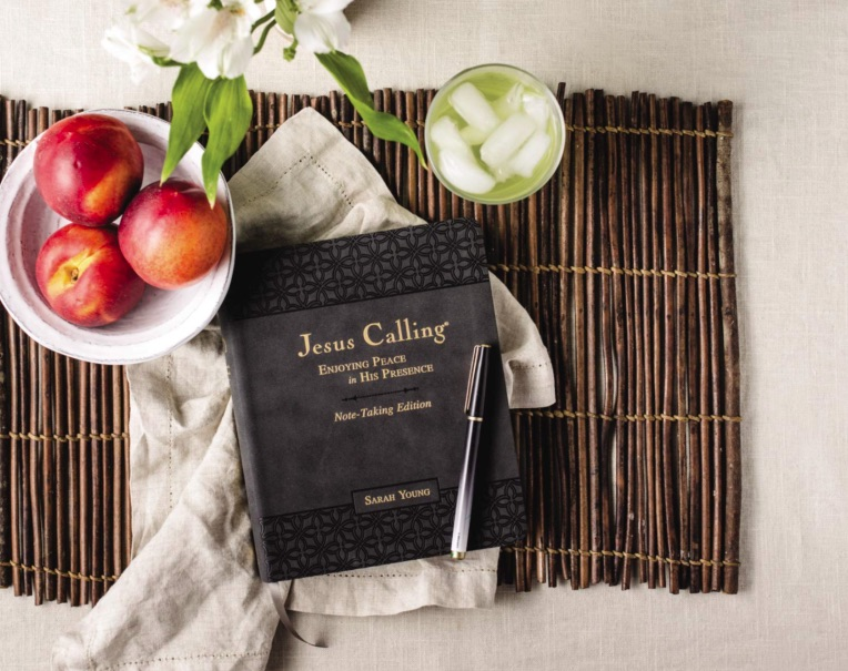 Jesus Calling Podcast #226 featuring the new Jesus Calling Note-taking Edition