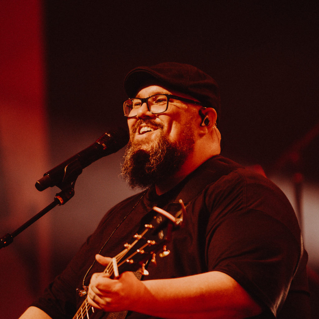 Jesus Calling podcast #229 featuring Mike Weaver from Big Daddy Weave - shown her in concert