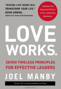 Book cover of Love Works by Joel Manby