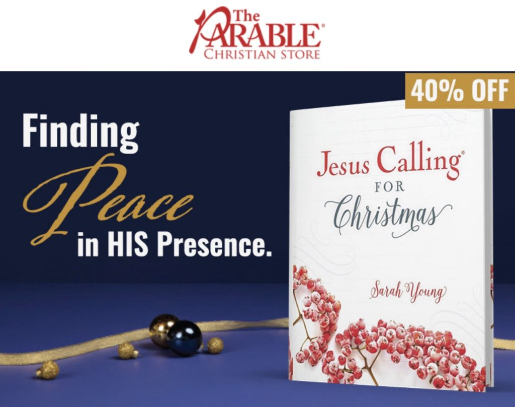 Jesus Calling podcast #228 featuring the Jesus Calling CHRISTMAS special