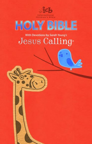 ICB Jesus Calling children bible deluxe leathersoft cover
