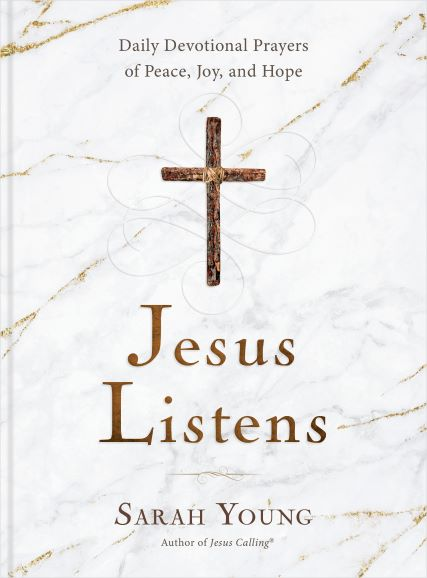 Jesus Calling podcast #261 featuring Jesus Listens by Sarah Young