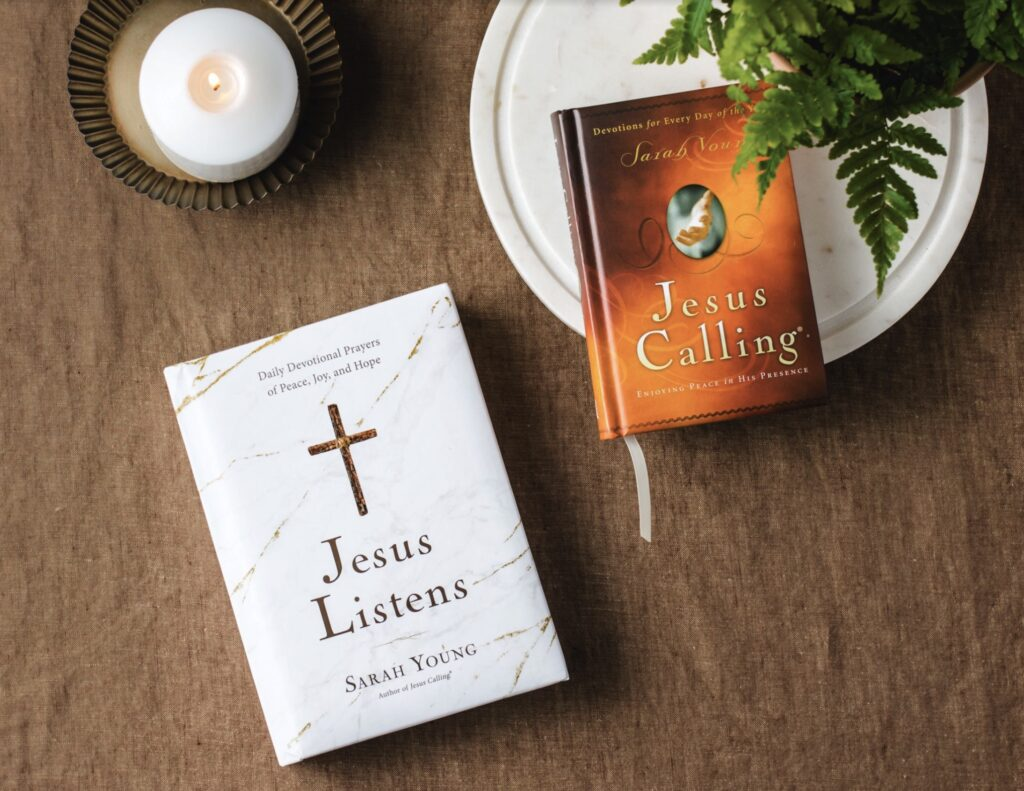 Jesus Calling podcast - Jesus Listen devotional